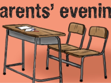 Year 8 parents' evening: 25th March