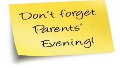 THURSDAY: Year 9 parents' evening