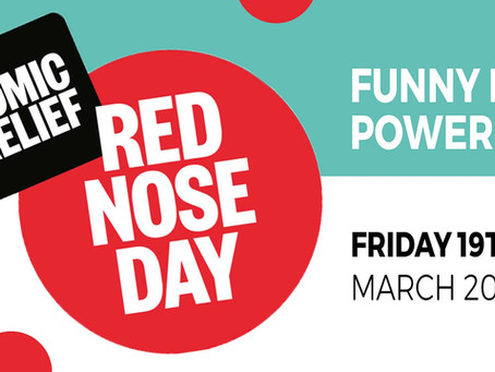 FRIDAY 19th: Red Nose Day!