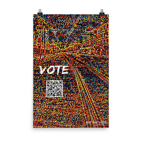 Vote Tracks (All Proceeds Fund Printing to Increase Registration and Turnout)