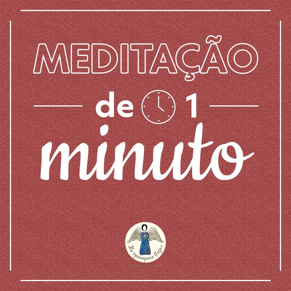 Meditação de 1 minuto