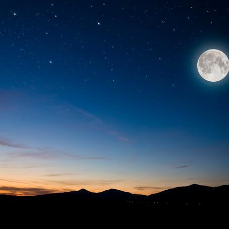 A lua cheia em fevereiro