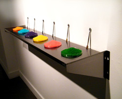Spoon+Dishes+Food on Shelf