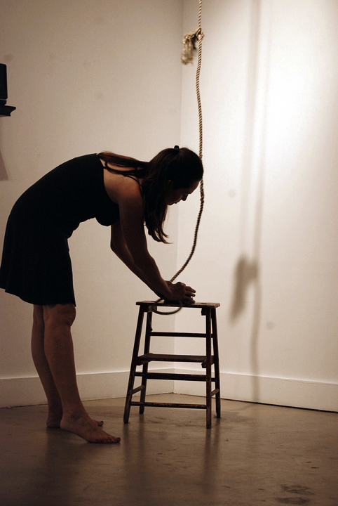 Rope and Stool