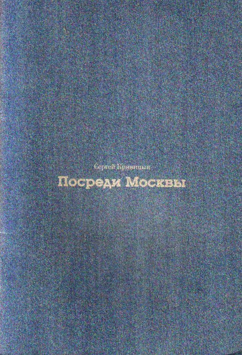 Сергей Криницын