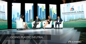 CNBC International: Entrepreneurs need creative solutions to sustainability challenge