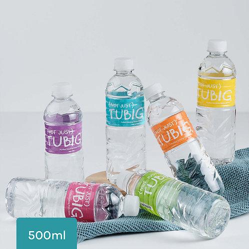 (Not Just) Tubig 500ml, 5 Cases (24 per case)