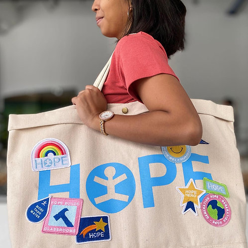 Extra Large HOPE Tote