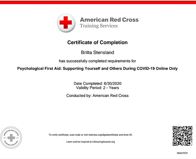Another Covid Awareness  Certification