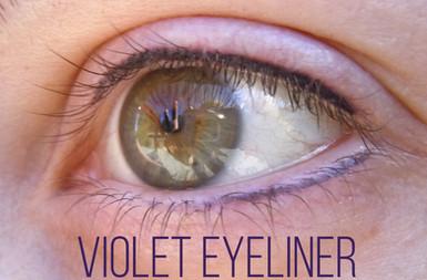 Violet Eyeliner