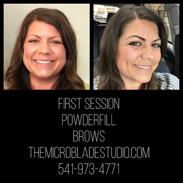 Powderfill Eyebrows First Session