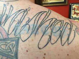 Tattoo Fading
