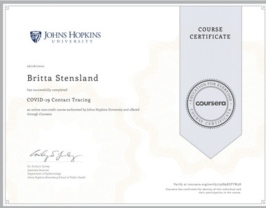 New Certification