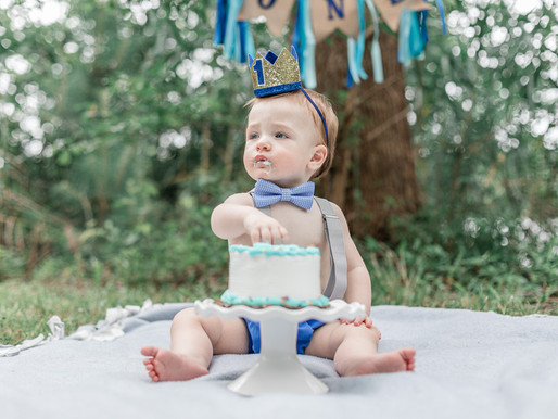 Cooper // 1st Birthday