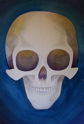 """Skull 2"" Original Painting"