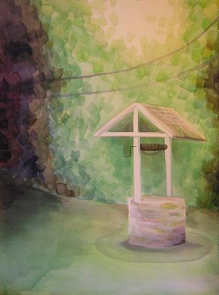 """Well"" Original Painting"