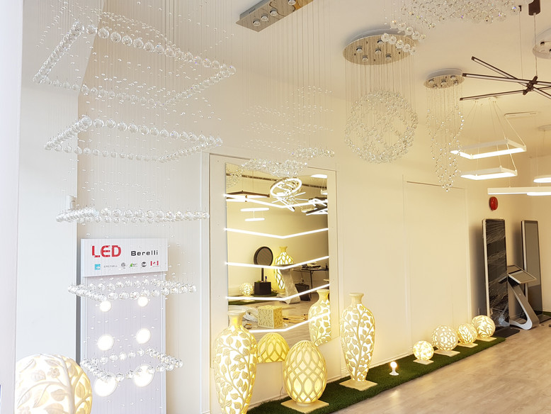 Prosperity Lighting Showroom (Left)