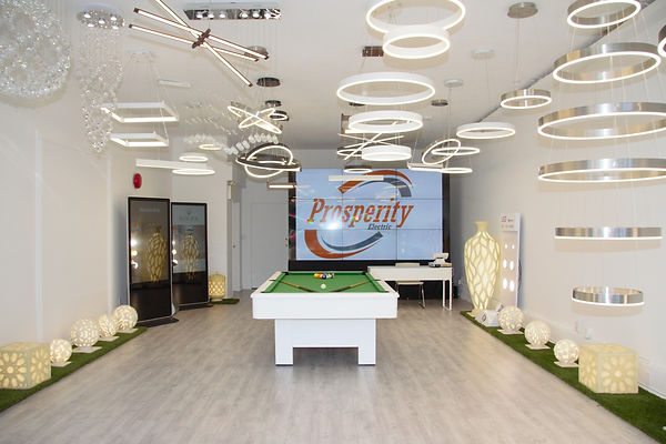 Prosperity Lighting Store Interior