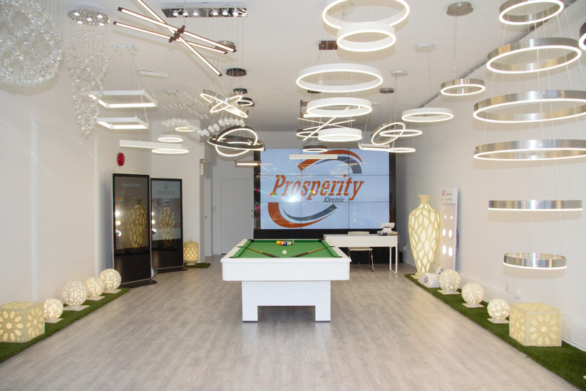 Prosperity Lighting LED Showroom
