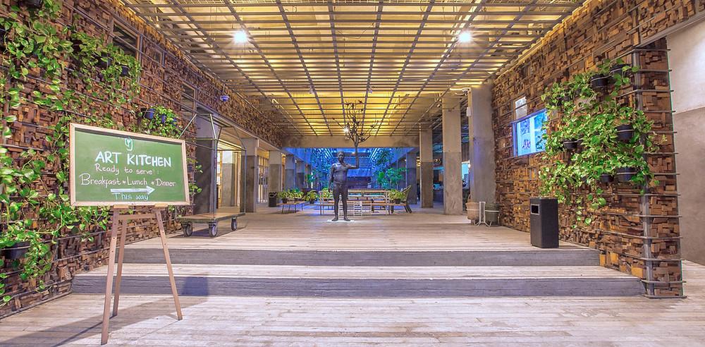 Lobby Hotel. (Image : www.greenhost.com)