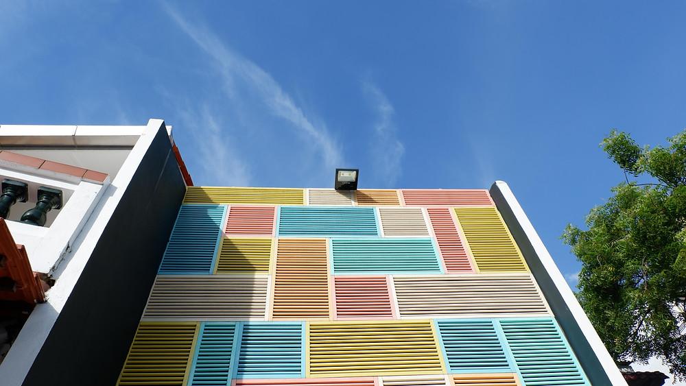 Fasad Depan Nomaps Flashpacker Hostel (picture : K+AD Firma Ars)