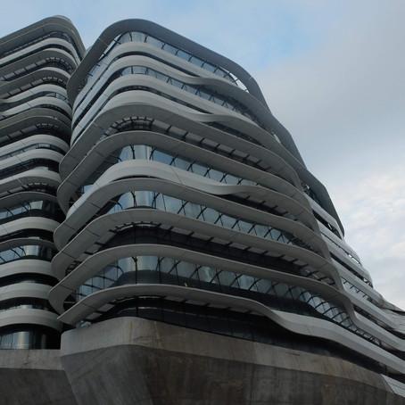 Arsitektur Masa Depan dalam Innovation Tower Hongkong Karya Zaha Hadid
