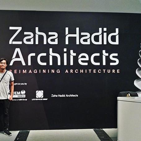 KAD Berkunjung ke Pameran Zaha Hadid di Singapura