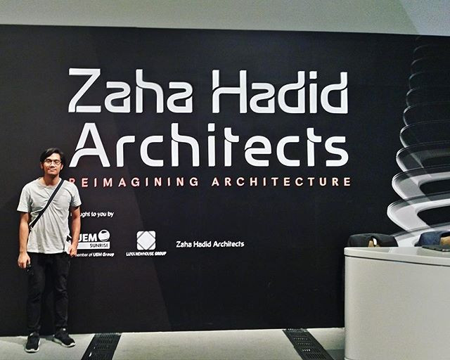 K+AD in ZHA Exhibition Singapore