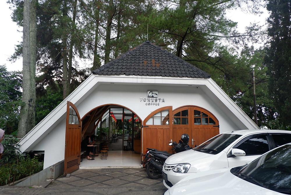 Foresta Coffee Nara Park Bandung (Pict : KAD Firma Arsitektur)