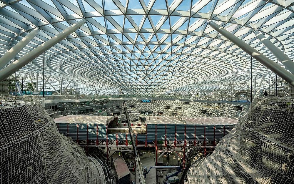 Struktur Utama Bangunan sekaligus Fasad (Pict : Safdie Architects)