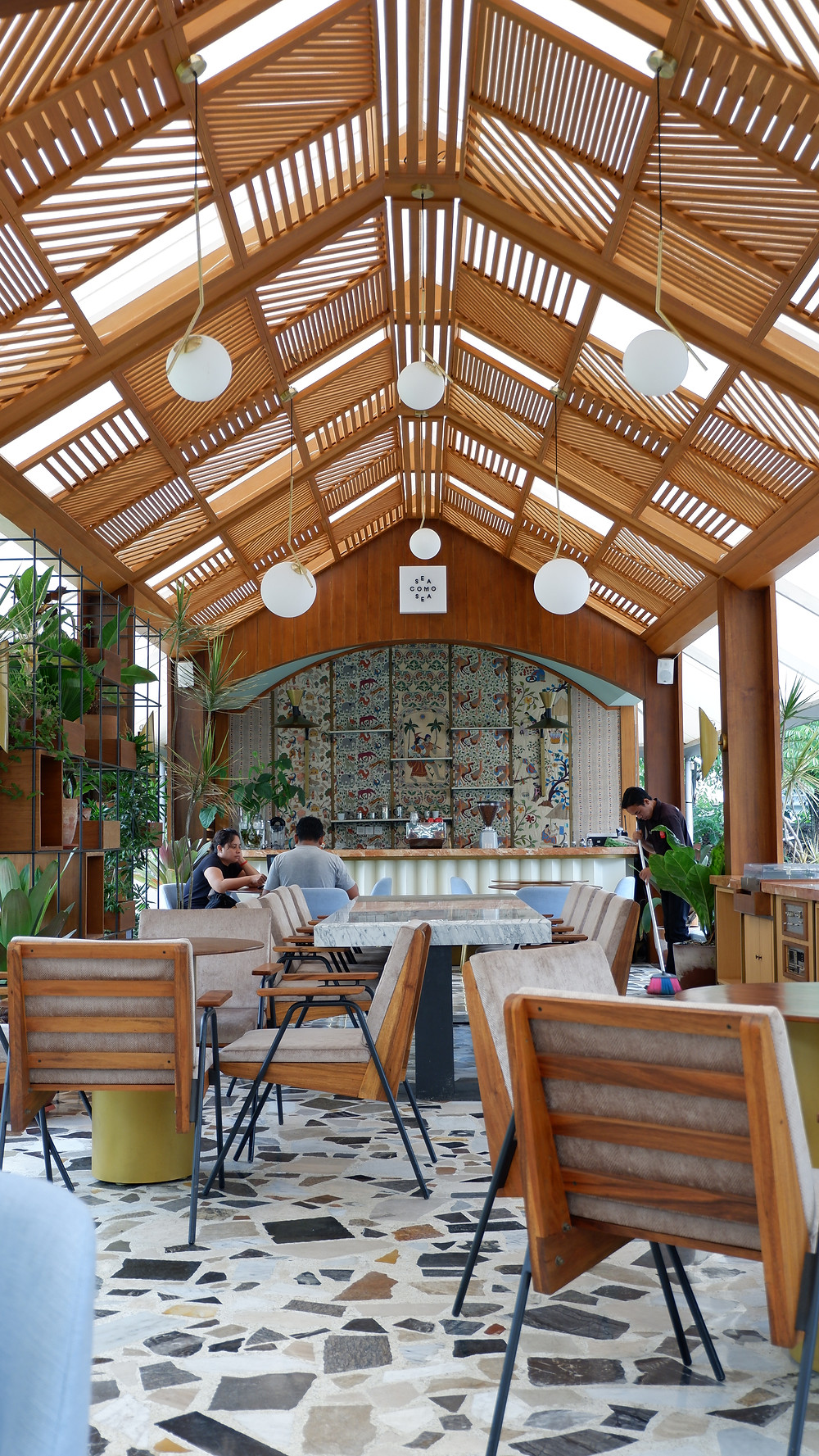 Restoran Sea Como Sea (Picture : K+AD Firma Arsitektur)