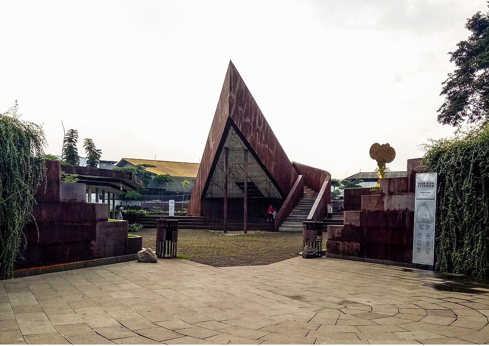Entrance Alun-Alun Cicendo (Pict : KAD Firma Arsitektur)
