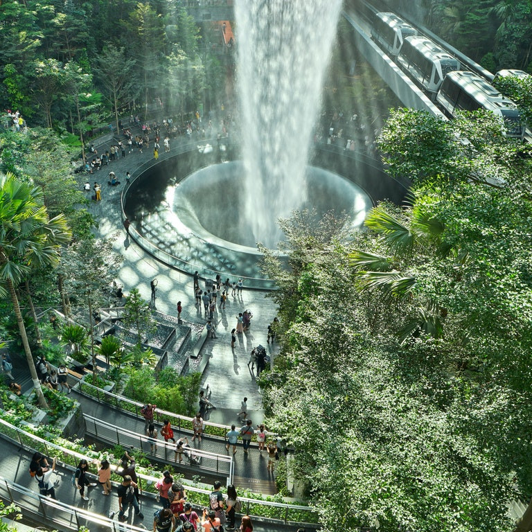 Shiseido Forest & Valley Gardens (Pict : Safdie Architects)