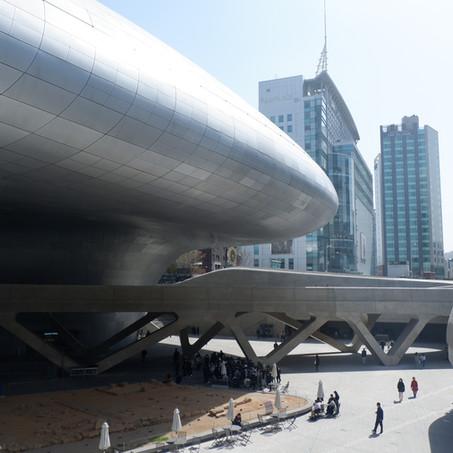 Kad bicara Dongdaemun Design Plaza