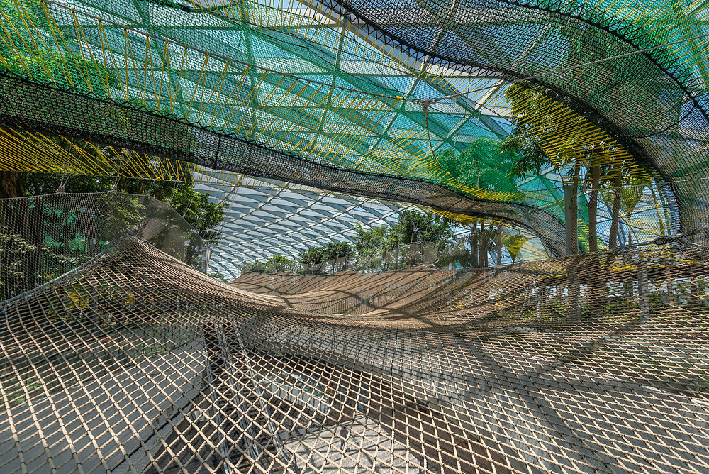 Skynets di The Canopy Park (Pict : Archdaily)