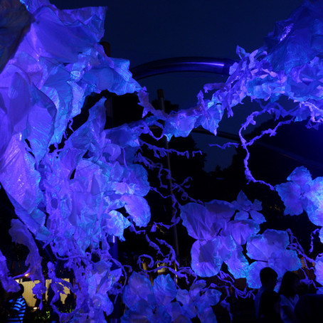 'Switch Off, Turn Up!' di Festival I Light Marina Bay