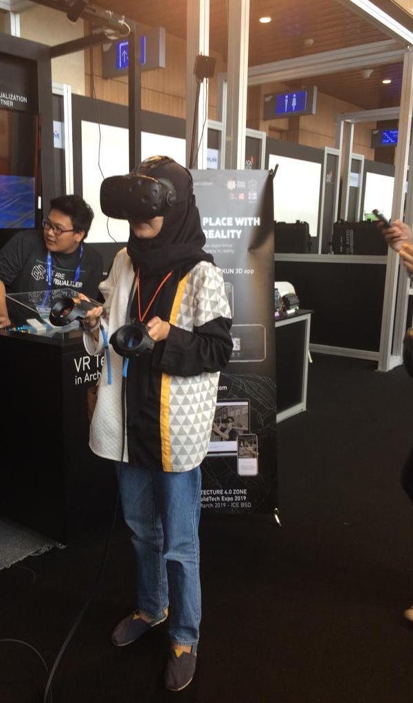 Virtual Reality di booth KUNKUN3D