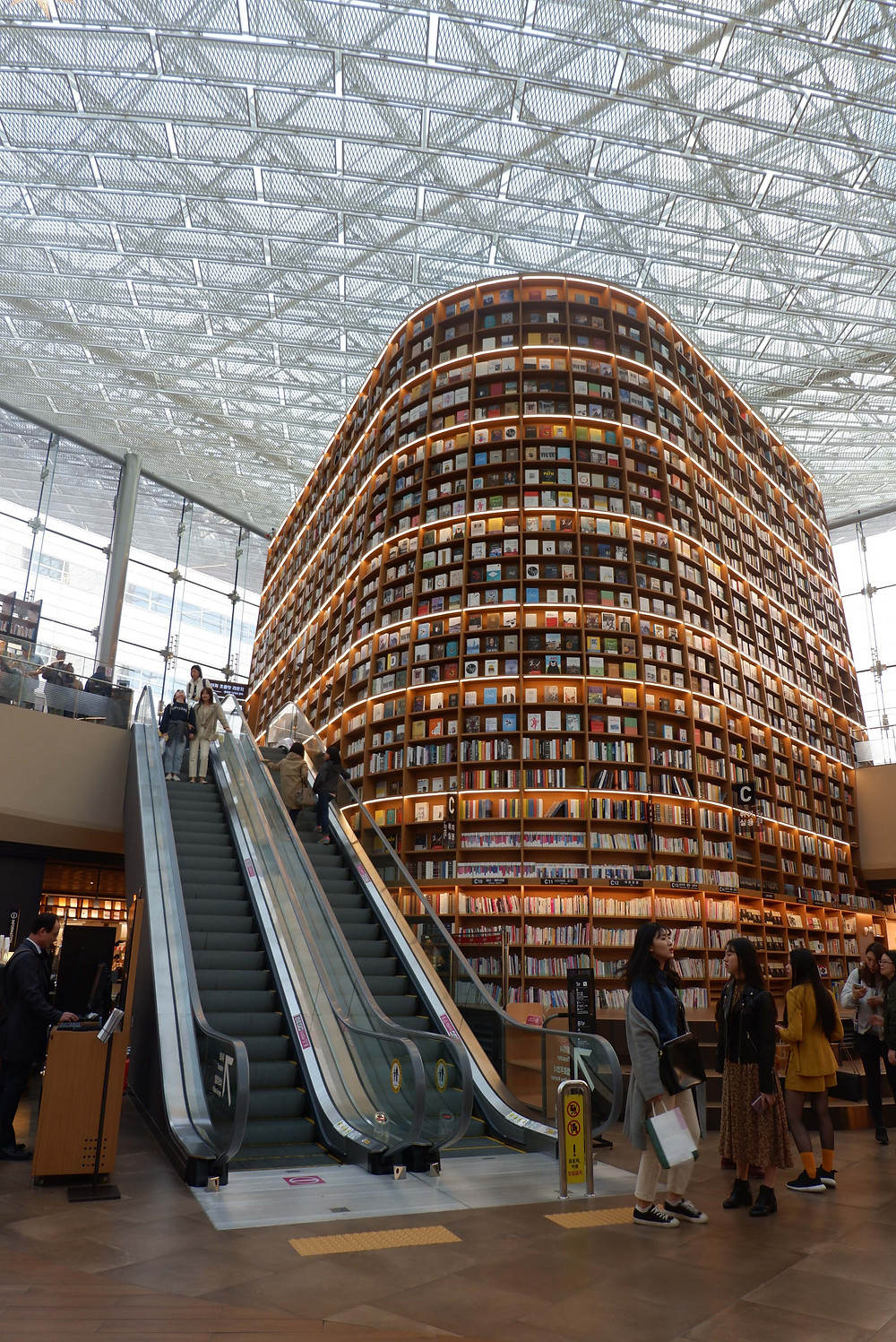Starfield Library. (Picture : Kad Firma Arsitektur)