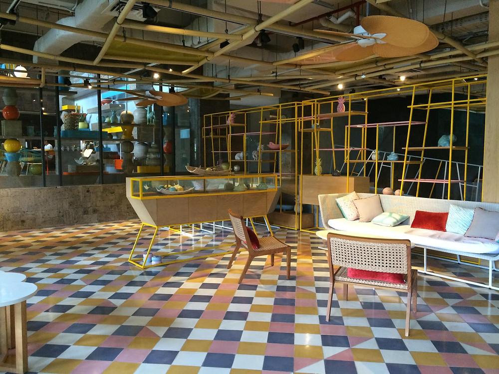 Lobby Hotel Tijili Seminyak Bali (Pict : K+AD Firma Arsitektur)