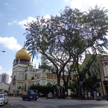Seni, Budaya dan Religi dalam Arsitektur Mesjid Sultan Singapura