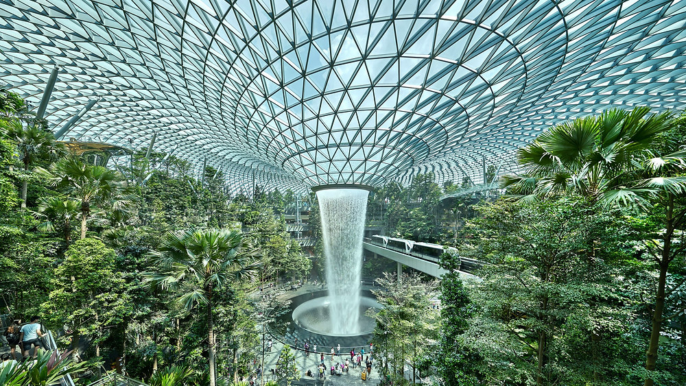 Jewel Changi Airport (Picture : Safdie Architects)