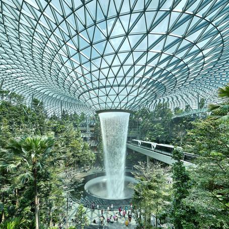 Kad bicara Jewel Changi Airport Singapura
