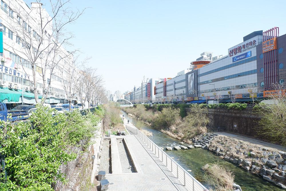 ChonGae Canal Restoration (Pict : KAD Firma Arsitektur)