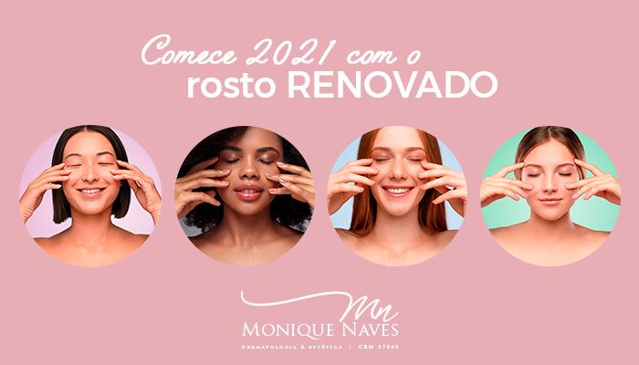 Comece 2021 com o rosto RENOVADO #Peeling