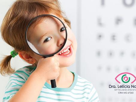 Oftalmologista especializado nos olhos das crianças? Tem sim!