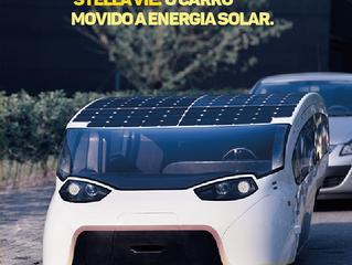 Stella vie: O carro movido a energia solar.