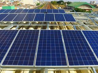 Estação do Metrô do DF começa a funcionar à base de energia solar