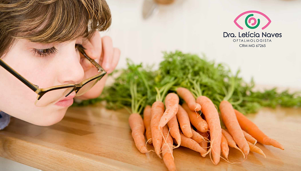 alimentação e saúde ocular