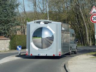 Uma casa do século XXI: o primeiro trailer caravana que gira 360 graus para obter energia solar