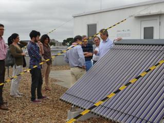 Investigadores do Porto criam ar condicionado alimentado a energia solar térmica